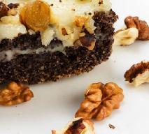 Keks makowy - pyszne ciasto na Wigilię [przepis]