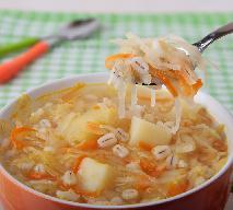 Zupa drwali - przepis na sycącą zupę z dodatkiem kapusty kiszonej