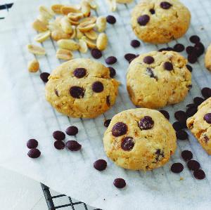 Ciasteczka z masłem orzechowym i kawałkami czekolady: najlepszy pokarm dla mózgu