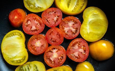Pomidory smażone w cieście -  przepis ze starej książki kucharskiej