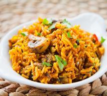 Pożywny ryż basmati z pieczarkami: przepis na wegetariańskie biryani