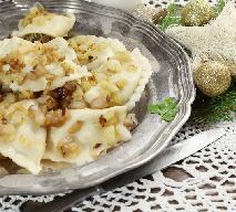 Pierogi z kapustą kiszoną i grzybami leśnymi: tradycyjny przepis wigilijny [WIDEO]