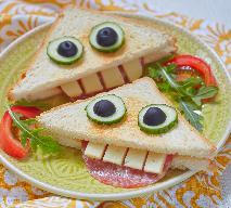 Przekąski na Halloween - przepis na uśmiechnięte krakersy
