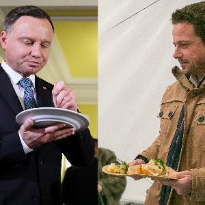 Duda kontra Trzaskowski: co lubią jeść kandydaci na prezydenta? Dania kuchni polskiej? Czy zagraniczne?