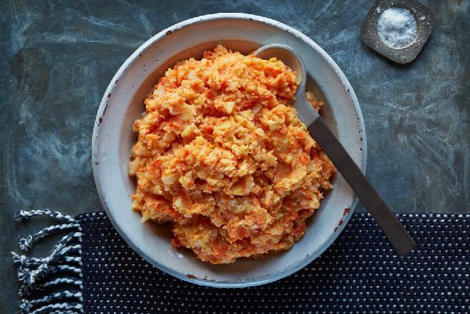 Przepyszne puree z ziemniaków i marchewki: reguluje pracę układ pokarmowego