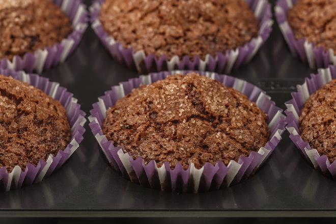 Czekoladowe muffinki - przepis polecany w diecie Ducana