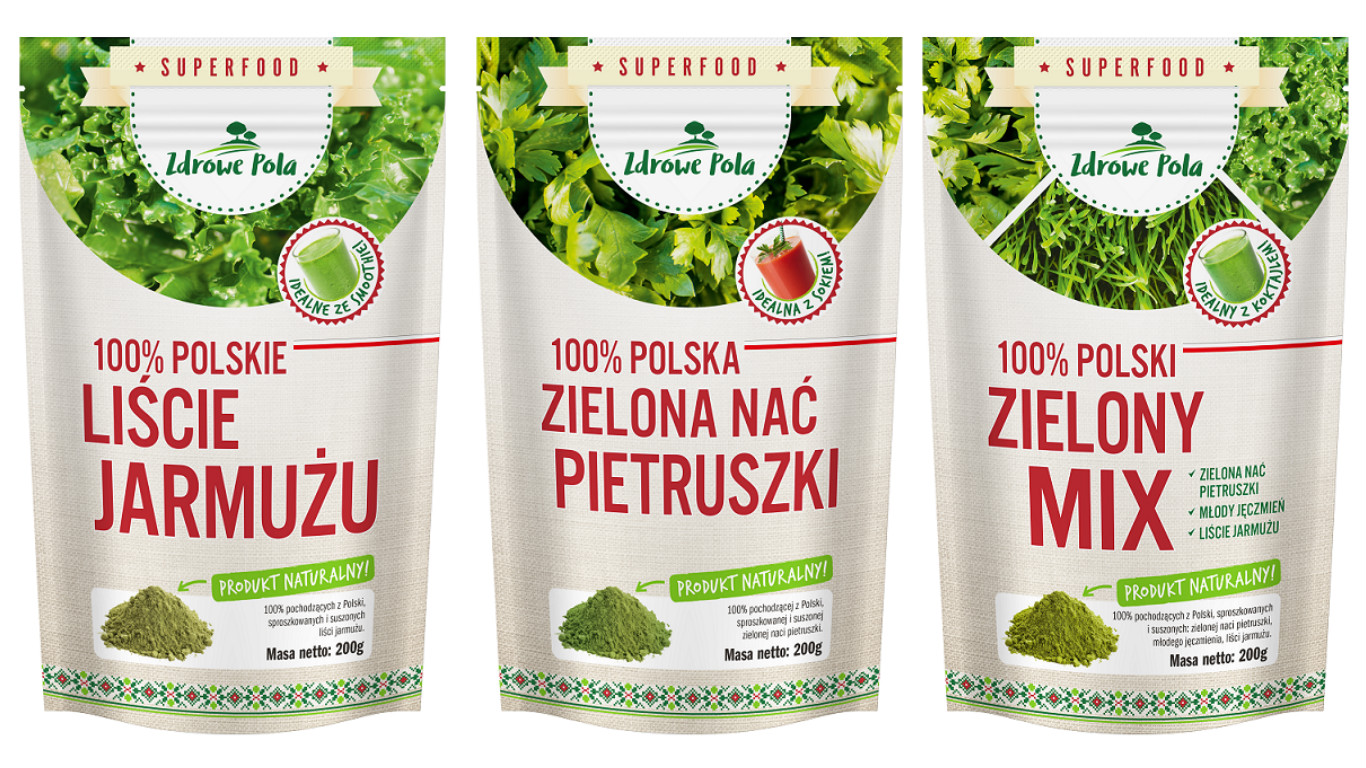 green barley plus polska